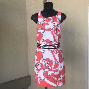 Lilly Pulitzer Dress Size 4 nautical theme pretty
